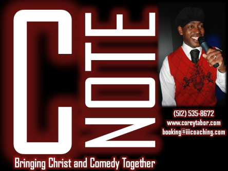 C-Note: Bringing Christ and Comedy Together