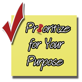 Prioritize for Your Purpose Logo Final