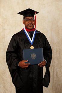 Corey's Master's Graduation